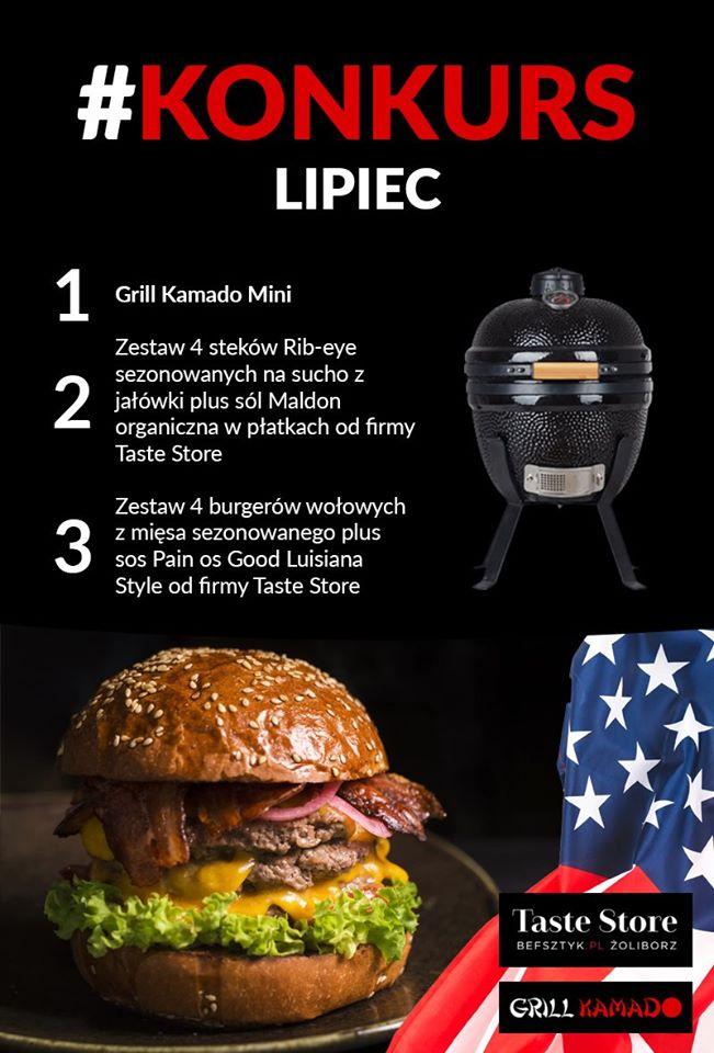 """Lipcowy konkurs: """"Amerykańskie jedzenie"""""""