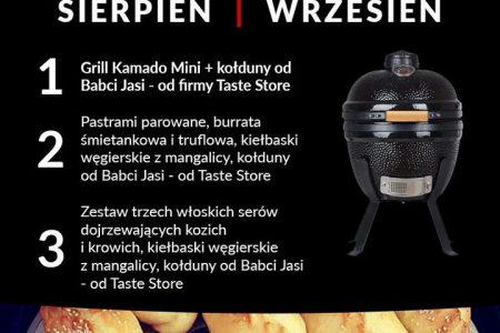 """Sierpniowo-wrześniowy konkurs : """"Pieczenie na grillu"""""""
